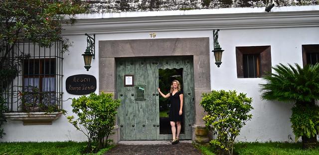 Main Entrance Panza Verde Antigua Guatemala