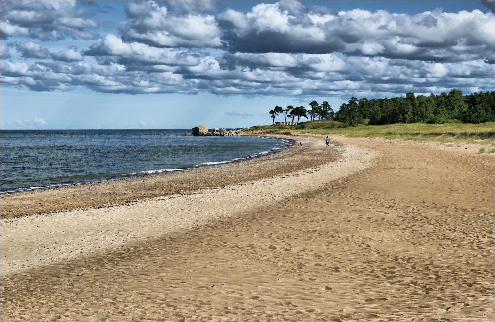 Пляж в Каросте