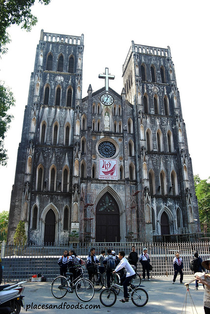 St Joseph's Cathedral Hanoi Overview