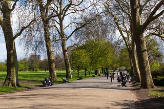 Saint Mark's Square dans le Regent's Park