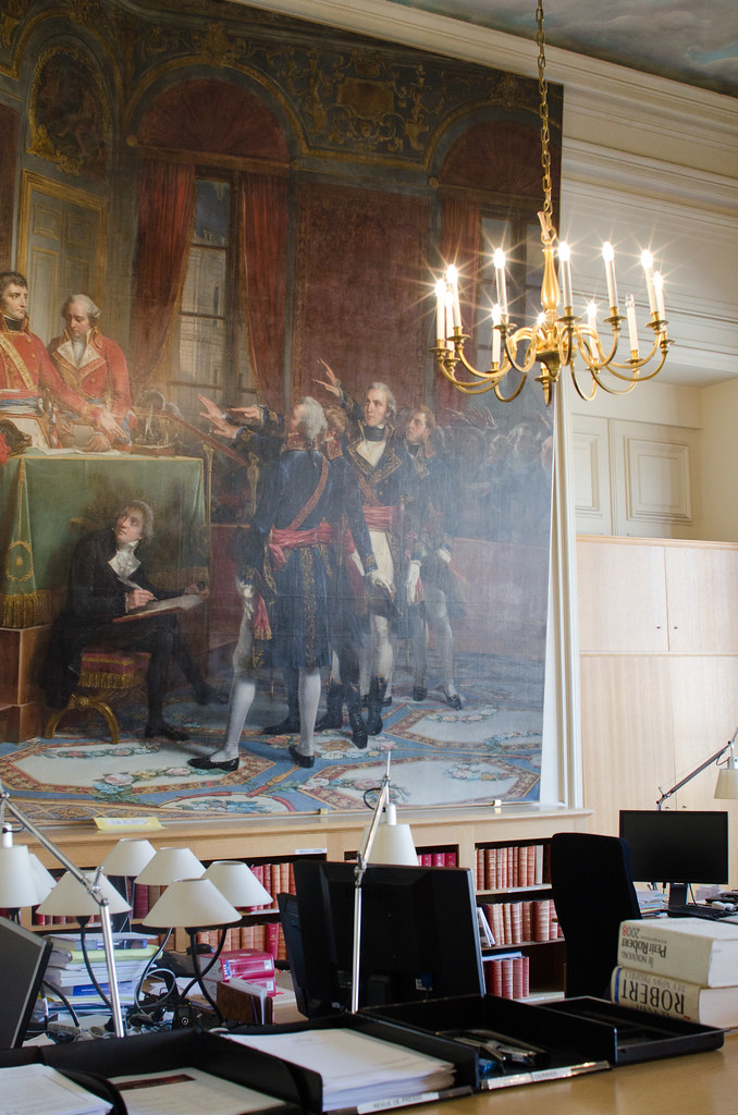 La salle René Cassin