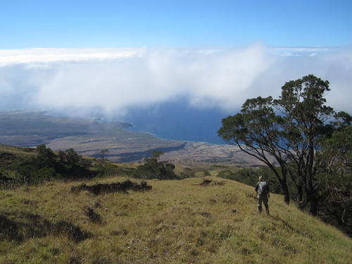 The view of the leeward coast of East Maui from Nakula NAR.