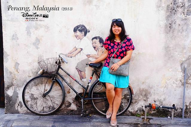 08. Penang's Art Street