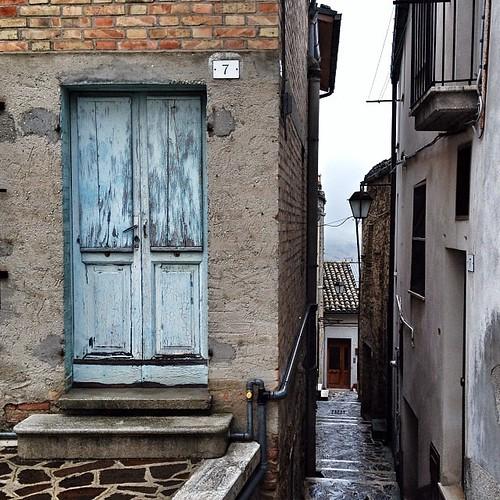Scorci rurali #blue #abruzzo