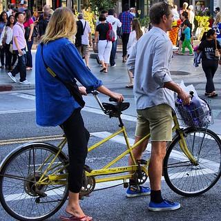 Schwinn Twinn Santa Monica Cycle-chic #Schwinn #cyclechic #santamonica #california #usa