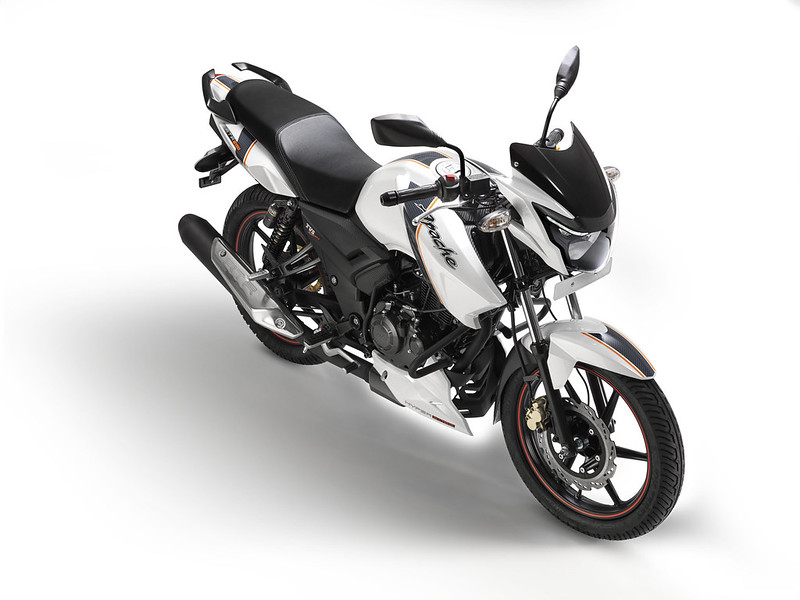 TVS Apache RTR 160 Gets New Paint Options