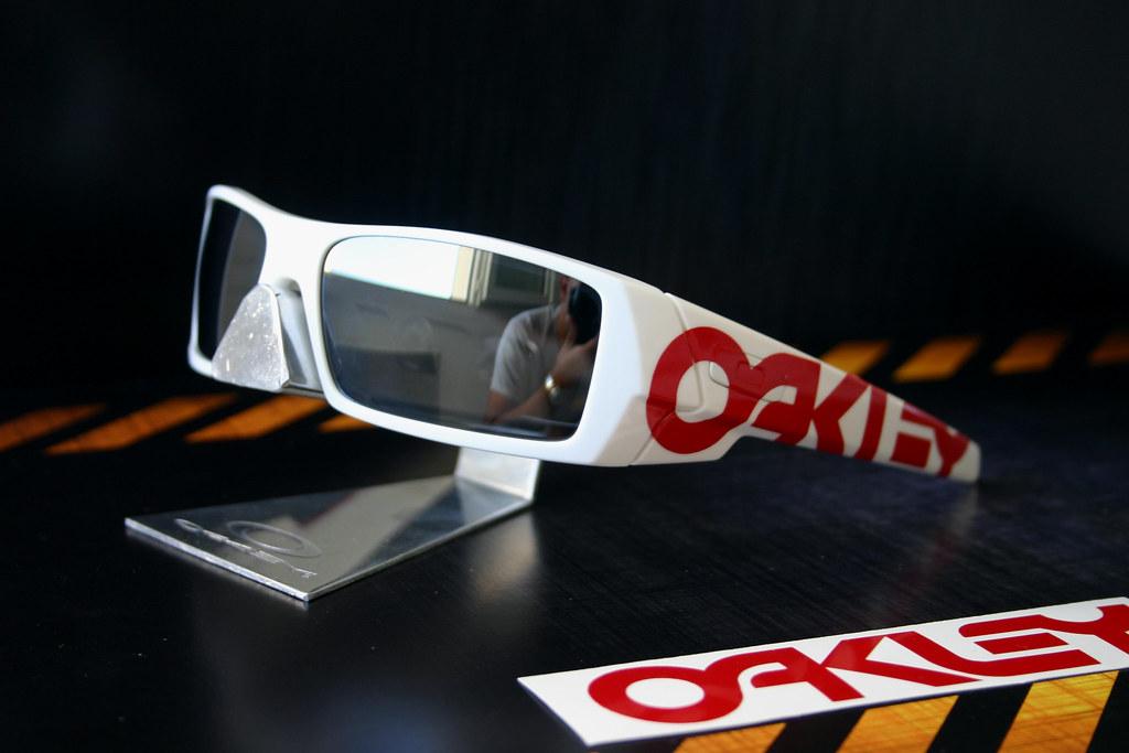 custom oakley gascan mstt  Oakley white Gascan personal custom