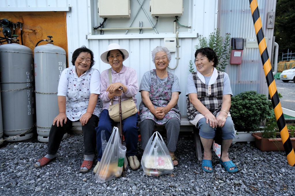 Elderly Japanese Women