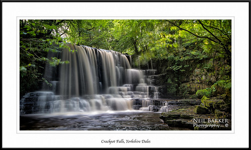 Crackpot Falls in the Dales