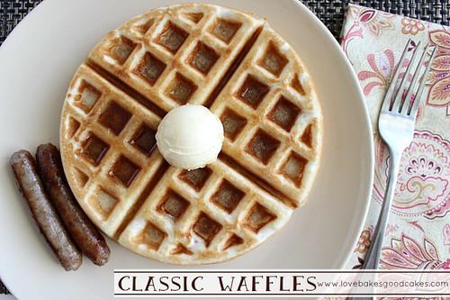 Classic Waffles 3