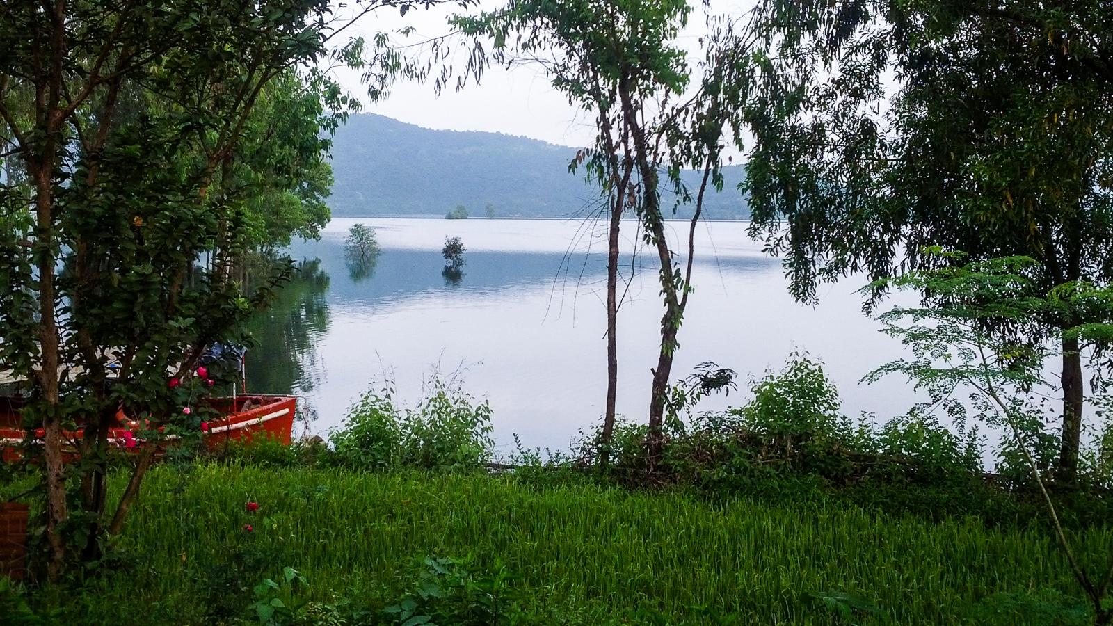 Morning view at Bamnoli