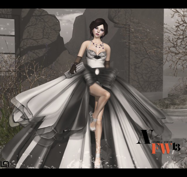 *LpD* *DAMA* Dress for Ave Fall Winter Fashion Week 2013