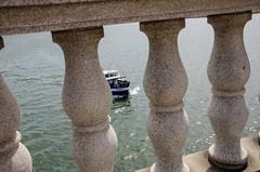 Boat through the bridge
