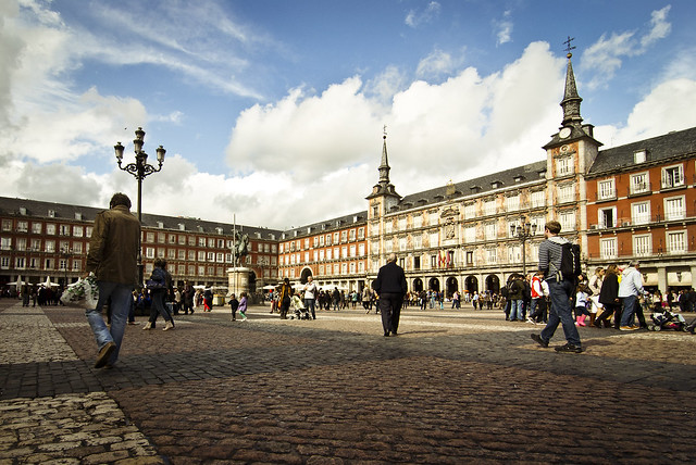... in Plaza Mayor