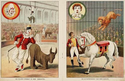 008- De circus-1890-© Royal Library - Biblioteca Nacional de los Países Bajos
