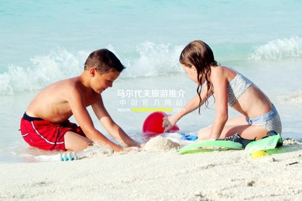 马尔代夫适合儿童的度假村