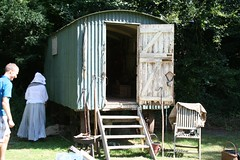 outdoor structure, garden buildings, shack, cottage, house, shed,