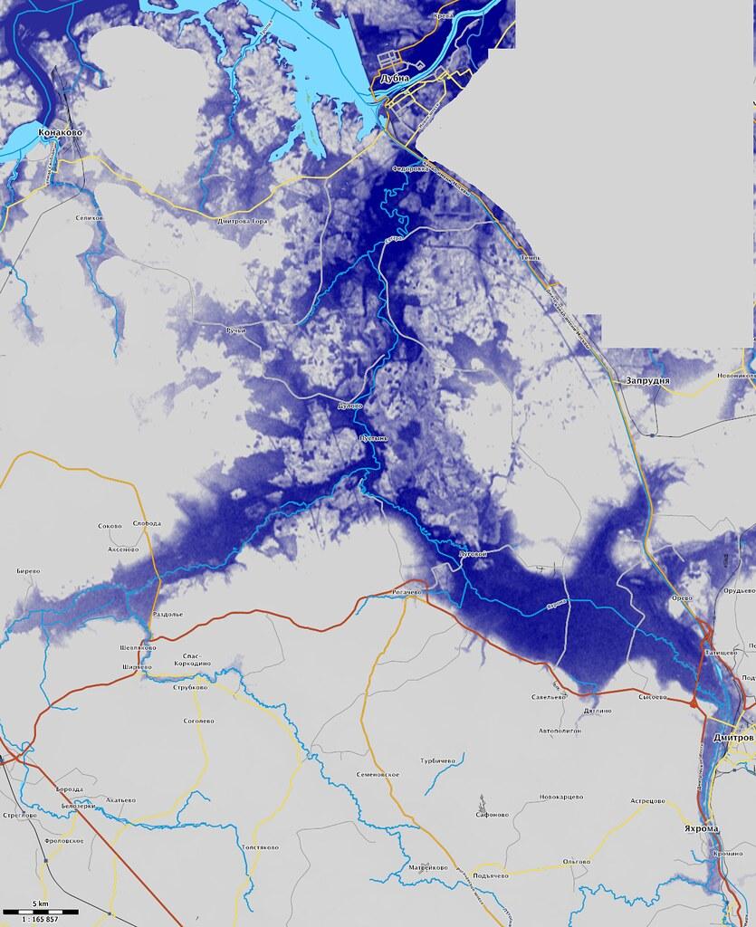 Карта затопления долины реки Сестры в ноябре 1941 - Артём ...: http://dr-kitaetsc.livejournal.com/257040.html