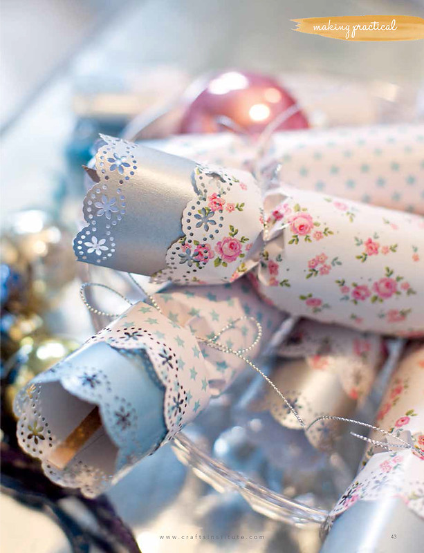 Christmas crackers in Making Magazine