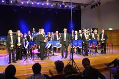 Brassbandfestivalen 2013 - Uffes Blås Brass Band, dirigent Mattias Hjortlinger (Foto: Olof Forsberg)