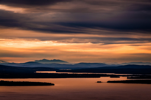rangeley maine unitedstates cloudy night sunset autumn fall mooselookmegunticlake viktorposnov appalachianmountains forest lake mountains nature newengland scenic woods