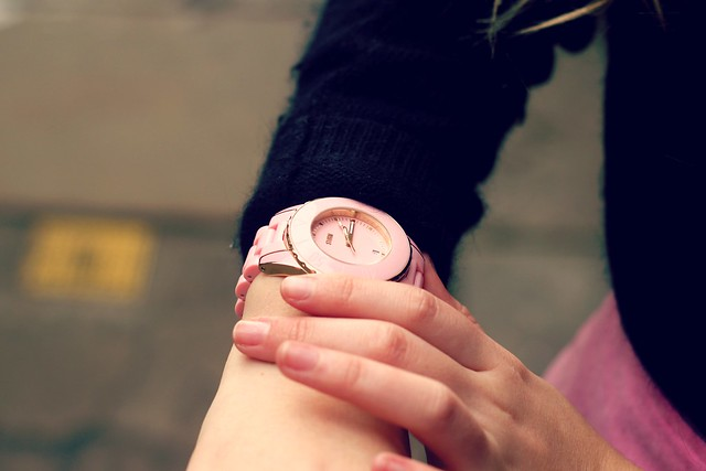 Storm Pink Watch