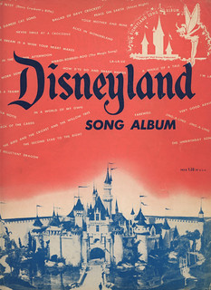 DISNEYLAND Song Album (1955)