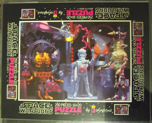 Space Warriors puzzle proof sheets, cards, and color separations 11282293726_9487dfe59f