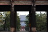 Temple in Nara by Teruhide Tomori