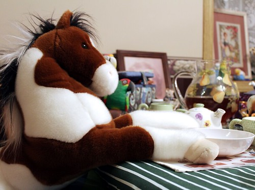 Fibre 212 Final Project - Teddy Bear Teatime by Calzephyr