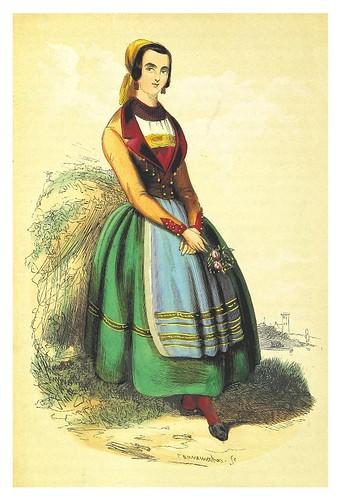 004-Doncella vecina de Bilbao-La Spagna, opera storica, artistica, pittoresca e monumentale..1850-51- British Library