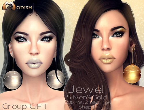 ::Modish:: Jewel skins Group Gift in mainstore by Ele Brandi ::Modish::