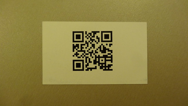 Foto des QR-Codes
