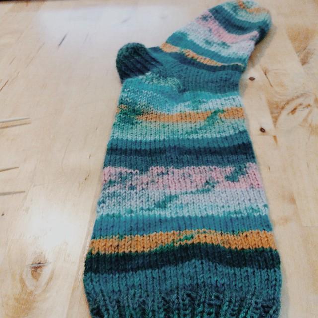 Dezembro é um bom mês para tricotar umas meias