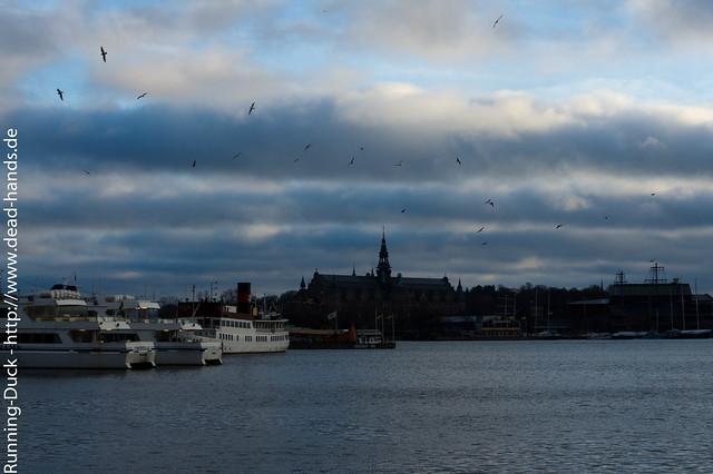 Schwedischer Wolkenhimmel