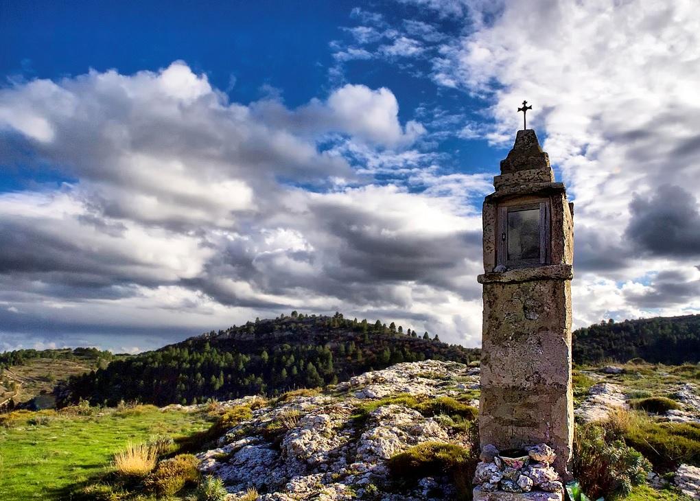 5. Paisaje de la Tinença en Coratxar, cerca de Castell de Cabres. Autor, Alberto Casanova