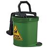 Oates Duraclean Mark II Wringer Bucket 15L Green SBKTIW008G