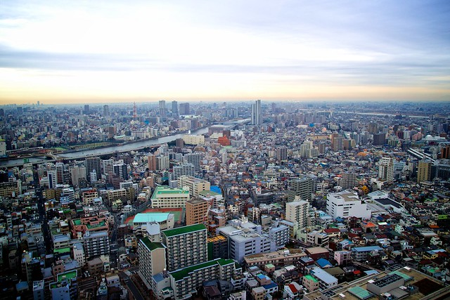 Tokyo city view from, Canon EOS KISS X7, Tamron AF 17-50mm f/2.8 Di-II LD Aspherical