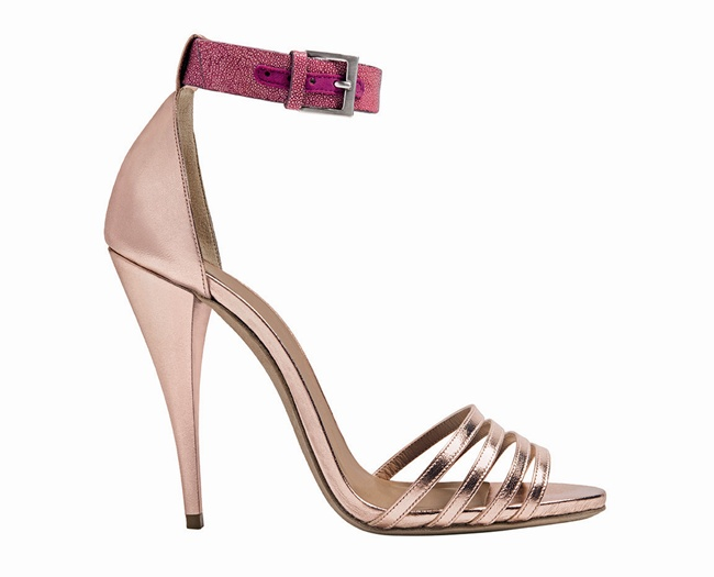 4 Etro Metallic Sandal
