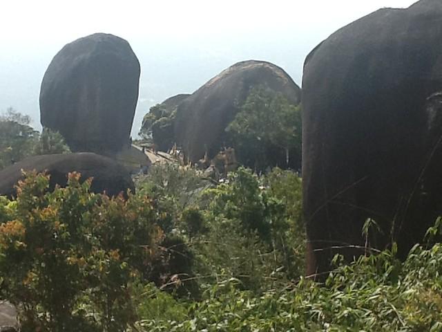 Stange rocks Khao Khitchakut