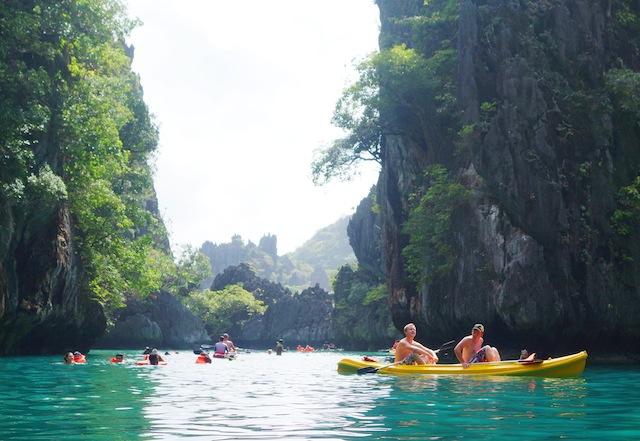 El Nido Palawan island hopping Small Lagoon
