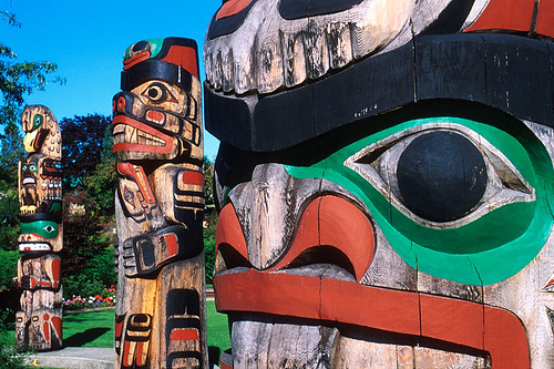 Duncan, City of Totems, Cowichan Valley, Vancouver Island, British Columbia, Canada