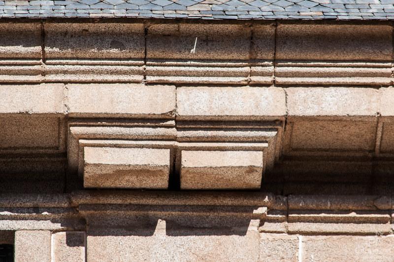 La última piedra del Real Monasterio de San Lorenzo de El Escorial