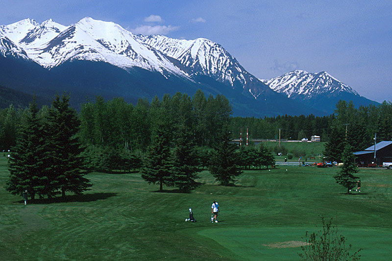 Smithers Golf Course, Smithers, Yellowhead Highway 16, Bulkley Valley, Northern British Columbia