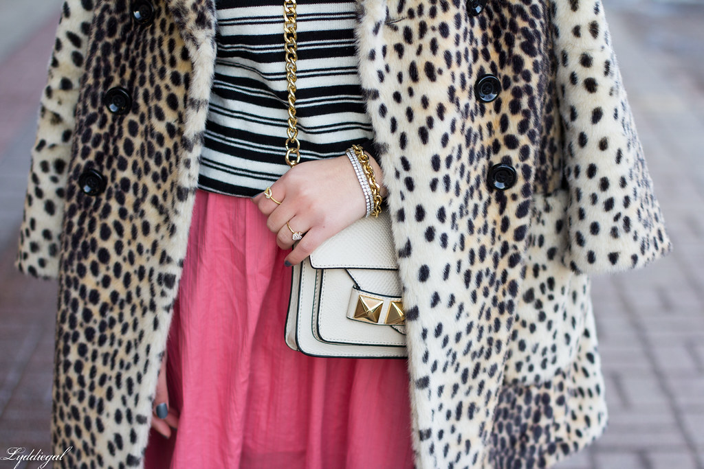 pink skirt, stripes, leopard coat-2.jpg
