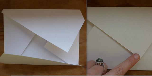 Envelope dobrado