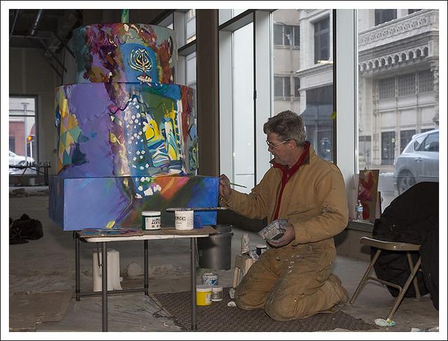 Henryk Ptasiewicz Cake Painting 1
