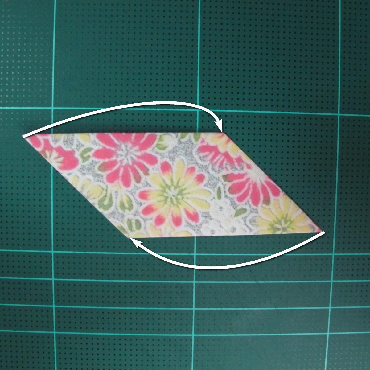 การพับกระดาษเป็นรูปเรขาคณิตทรงลูกบาศก์แบบแยกชิ้นประกอบ (Modular Origami Cube) 014