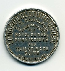 Loudoun Clothing House obverse