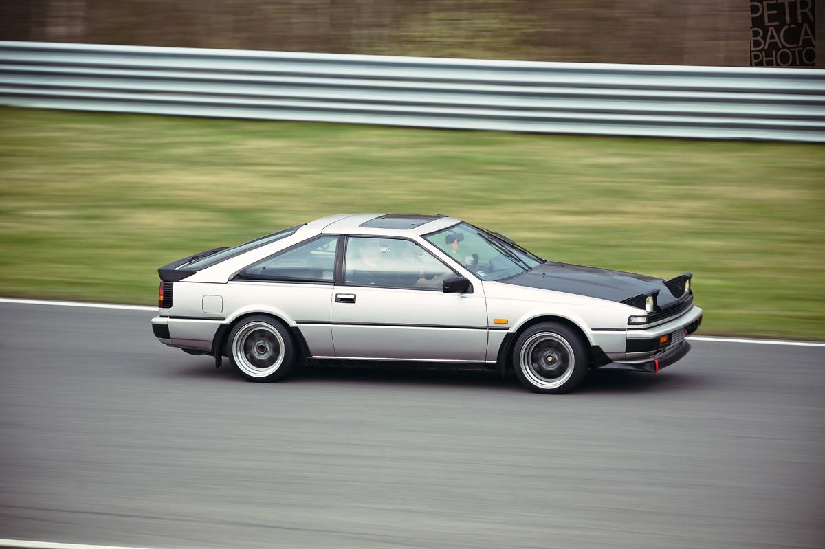 Autodrom Most, Den otevřených dveří, Nissan Silvia S12,